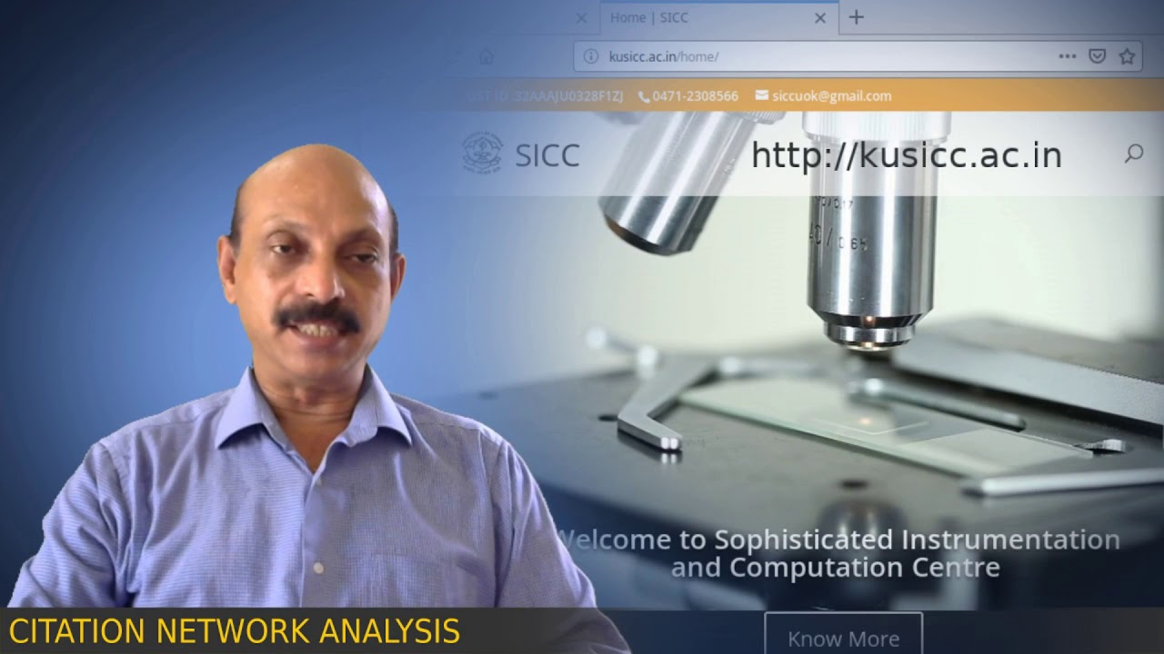 MOOC on Citation Network Analysis