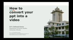 How to convert your ppt to a video using OBS